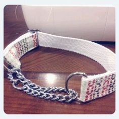 DIY chain martingale collar