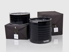 Lapsang Noir candle packaging