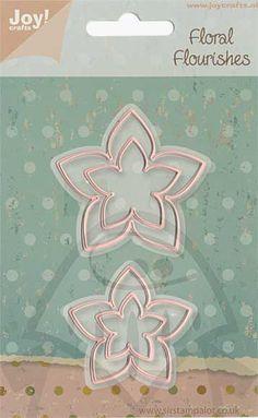 Joy Crafts Floral Flourishes Cutting Dies - Flowers 2