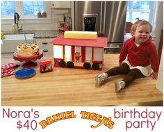 Daniel Tiger Birthday Party - andrea dekker