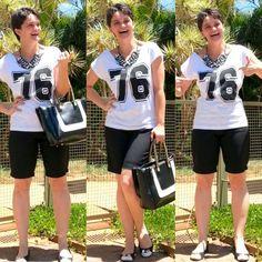 blog v@ LOOKS | por leila diniz: Look do aniversário foi usando camisetinha TEMÁTIC...