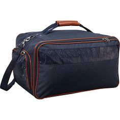 #BarkNBag, #Luggage, #PetBags - Bark n Bag Nylon Pet Carrier - Large Navy Navy - Bark n Bag Pet Bags