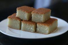 Mochi cake (Korean rice cake)