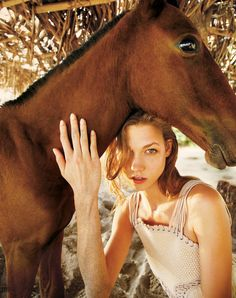 Karlie Kloss Takes to Nicaragua for T Magazines Winter 2012 Cover Shoot by Ryan McGinley