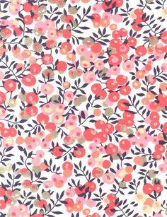 Liberty Tana Lawn Wiltshire D (pink) Motif Liberty, Liberty Print, Liberty Fabric, Liberty Rose, Surface Pattern Design, Pattern Art, Fabric Patterns, Print Patterns, Fabric Design