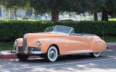Packard Clipper Darrin Convertible - 1941
