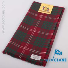 Crawford Modern Tartan Headsquare. Free worldwide shipping available