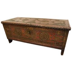 "another gorgeous piece -- Rare 18th Century East African ""Zanzibar"" Chest."