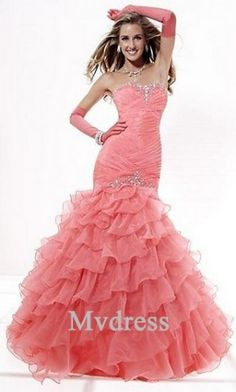 Quinceanera Dresses#Pink Dress#Long #Strapless Dress
