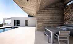 With its mild weather, green rolling hills, stunning views and easy access to the sea, the island of Euboea in Greece – the country's second largest – seems to have been made for outdoor living; and this is exactly what a professional couple had in...
