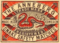 Pill Pat // The Anneberg Safety Matches