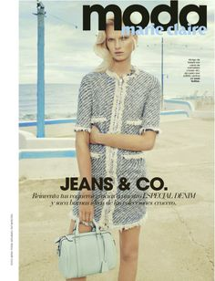 Marie Claire Spain January 2014 | Bree Smith by Sergi Pons