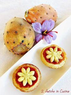 Crostatine allo Zafferano e Fichi d'India | 2 Amiche in Cucina