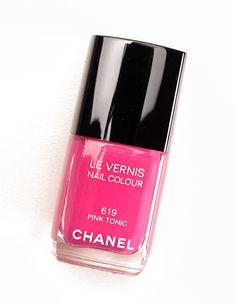 Chanel Pink Tonic (619) Le Vernis Nail Colour