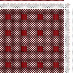 Hand Weaving Draft: Figure 1842, A Handbook of Weaves by G. H. Oelsner, 4S, 4T - Handweaving.net Hand Weaving and Draft Archive