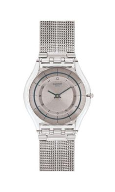 Swatch Watch Unisex Swiss Automatic Body and Soul Stainless Steel ... 895bbb22f3