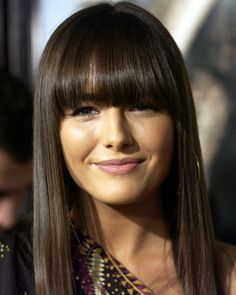 Camilla Belle bangs http://beautyeditor.ca/2013/12/12/how-to-choose-the-right-hair-colour/