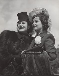 Norma Shearer and Merle Oberon
