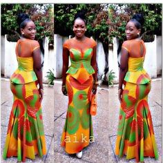 African Maxi Gown Dress - The African Clothing African Inspired Fashion, African Print Fashion, Africa Fashion, Fashion Prints, Fashion Styles, Fashion Outfits, Trendy Fashion, Modern Fashion, Men's Fashion