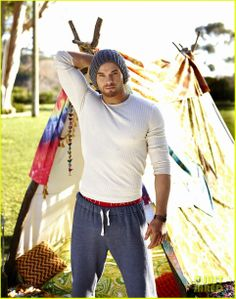 Kellan Lutz for Abbot   Main Spring 2014 Campaign