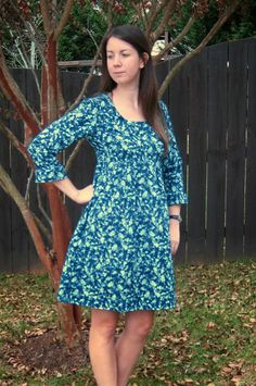 Meadow Mist Designs: Washi Dress #1 Finished!