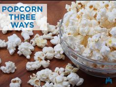 It's crunchy and you can make it spicy, sweet or savory — when you're craving a snack, popcorn can be a satisfying and delicious option. And when you pop it… Vegetarian Appetizers, Appetizer Recipes, Snack Recipes, Smart Snacks, Healthy Snacks, Popcorn Toppings, College Snacks, Best Popcorn, Food Substitutions