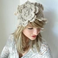 Victorian Rose Wide Headband - via @Craftsy