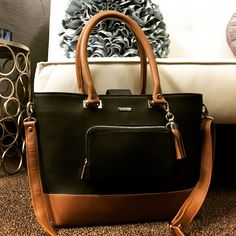 838bde57863350 Customizable Leather Tote Bags - Design your own Bella Modi Madison Tote