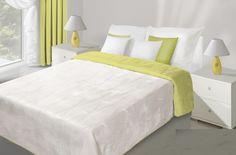 Bílo zelené přehozy na postel oboustranné prošívané Furniture, Design, Home Decor, Decoration Home, Room Decor, Home Furnishings, Home Interior Design, Home Decoration