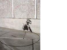 Banksy Banksy Work, Bansky, Street Artists, Graffiti Art, Urban Art, Illustration, Digital Art, Scene, Drawings