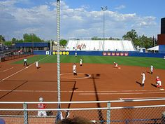 University of Arizona Softball Field!