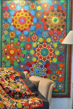 Quilt by Willyne Hammerstein.  Photo by David's Cottage.