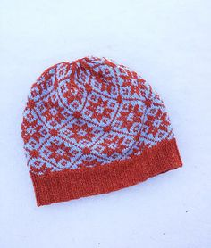 Ravelry: First Winter Together Hat pattern by yellowcosmo