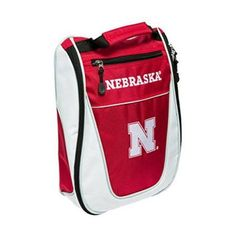 Team Golf 22482 Ncaa Nebraska Cornhuskers Golf Shoe Bag, Yellow