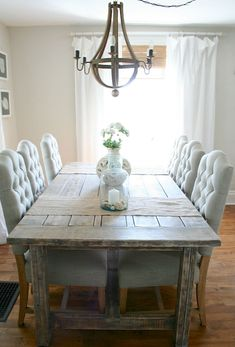 Cool 75 Farmhouse Dining Room Decor Ideas https://crowdecor.com/75-farmhouse-dining-room-decor-ideas/