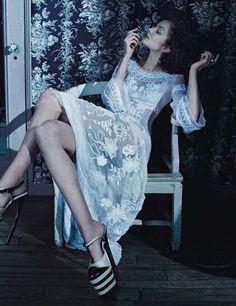 Eniko Mihalik por Emma Summerton para Vogue Alemanha Maio 2015 [Editorial]