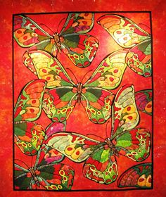 What a stunningly beautiful quilt!  Happy Quilting: Everything In Between Quilt Show