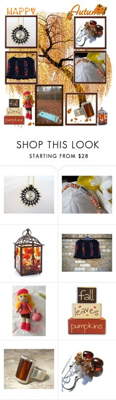 """Happy Autumn Shopping"" by belladonnasjoy ❤ liked on Polyvore featuring Yankee Candle, modern and rustic"