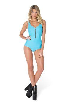 2d55449e0a Matte Light Blue Zip Suit › Black Milk Clothing SIZE S Wholesale Clothing