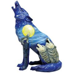 Call of the Wolf Three Wolves Figurine by Westland Giftware