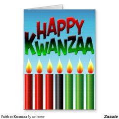 Faith at #Kwanzaa Greeting Card