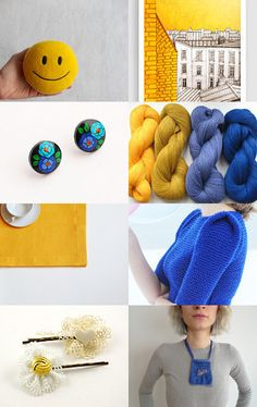 yellow spring by Helena on Etsy--Pinned with TreasuryPin.com