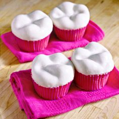 They're ironic but fun - teeth molded out of a cake/frosting mixture and fondant!  Don't forget to brush after enjoying these :) 1) Prepare a half-batch of...