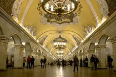 Moscow Metro (photo by Marc Veraart on flickr) - Things to Do in Moscow - The Trusted Traveller