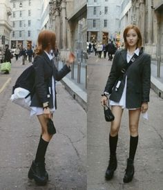 Hyomin Shows Off her Beauty with 'Bottomless' Fashion in Europe