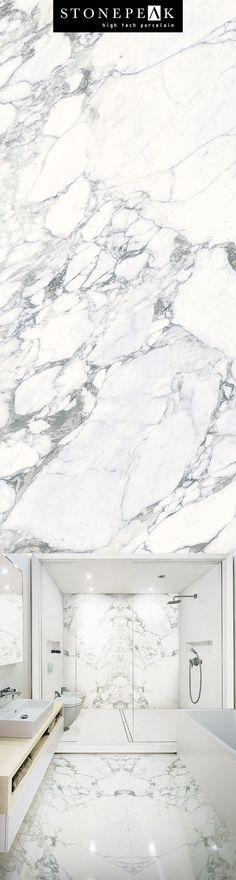 Porcelain Tile | Marble Look Plane Arabescato Vena http://www.stonepeakceramics.com/plane.php