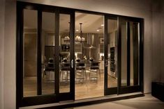 Love these doors. How To Make Sliding Glass Doors More Secure? | Interior Designing Trends