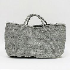 Sisal Hemp Bag/Grey