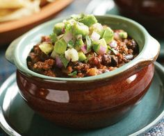 beef black bean chili with chipotle avocado beef black bean chili with ...