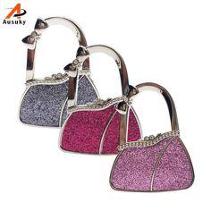 New Bag Shape Design Folding Handbag Cloth Purse Bag Hanger Durable Table  Hook Racks Accessories For Bags Bolsa   Bag Parts U0026 Accessories   Pinterest    Men ...